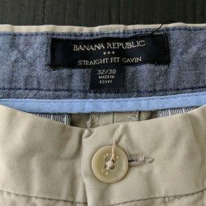Reduced! Banana Republic Gavin 32/30 Pants
